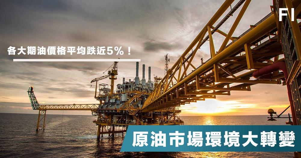 【油價危機】貿易戰、原油供應增加、美對伊朗政策改變。國際油價受3重打擊從高位急跌7%!