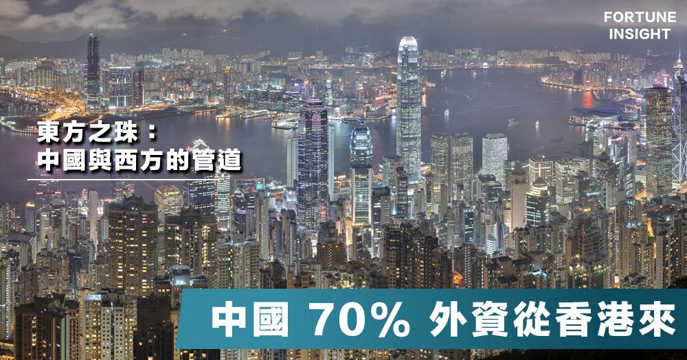 【豈敢宰殺金鵝?】中國近7成外資來自香港:香港的金融地位,中國並無城市可取代。
