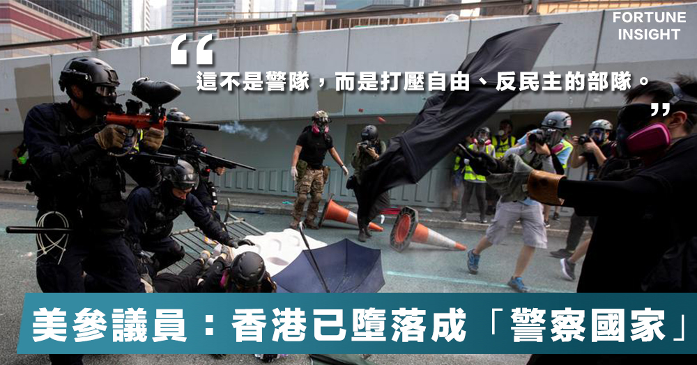 【天安門2.0】英、美、德齊Twitter發聲斥香港警察,害怕香港警察多於恐怖分子。